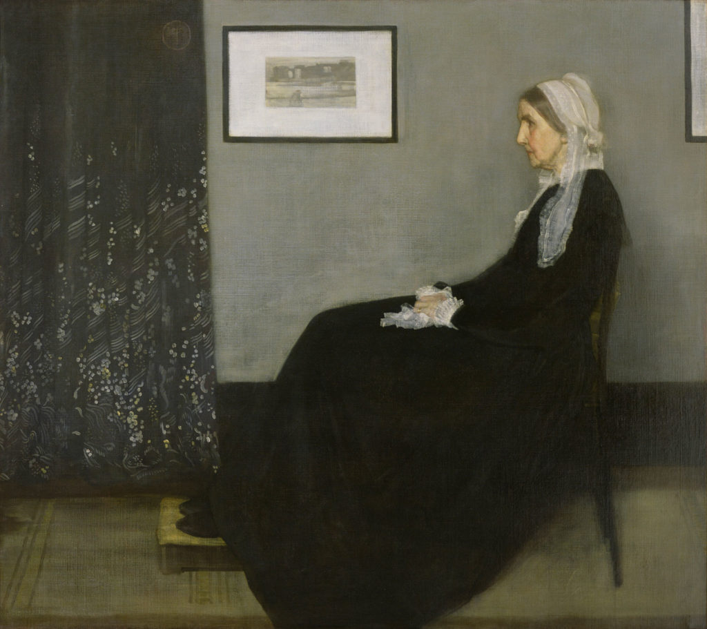 Arrangement in Grey and Black No.1 by James Abbott McNeill Whistler