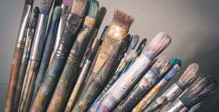 Art Brushes 101 art hacks Steve Johnson Unsplash