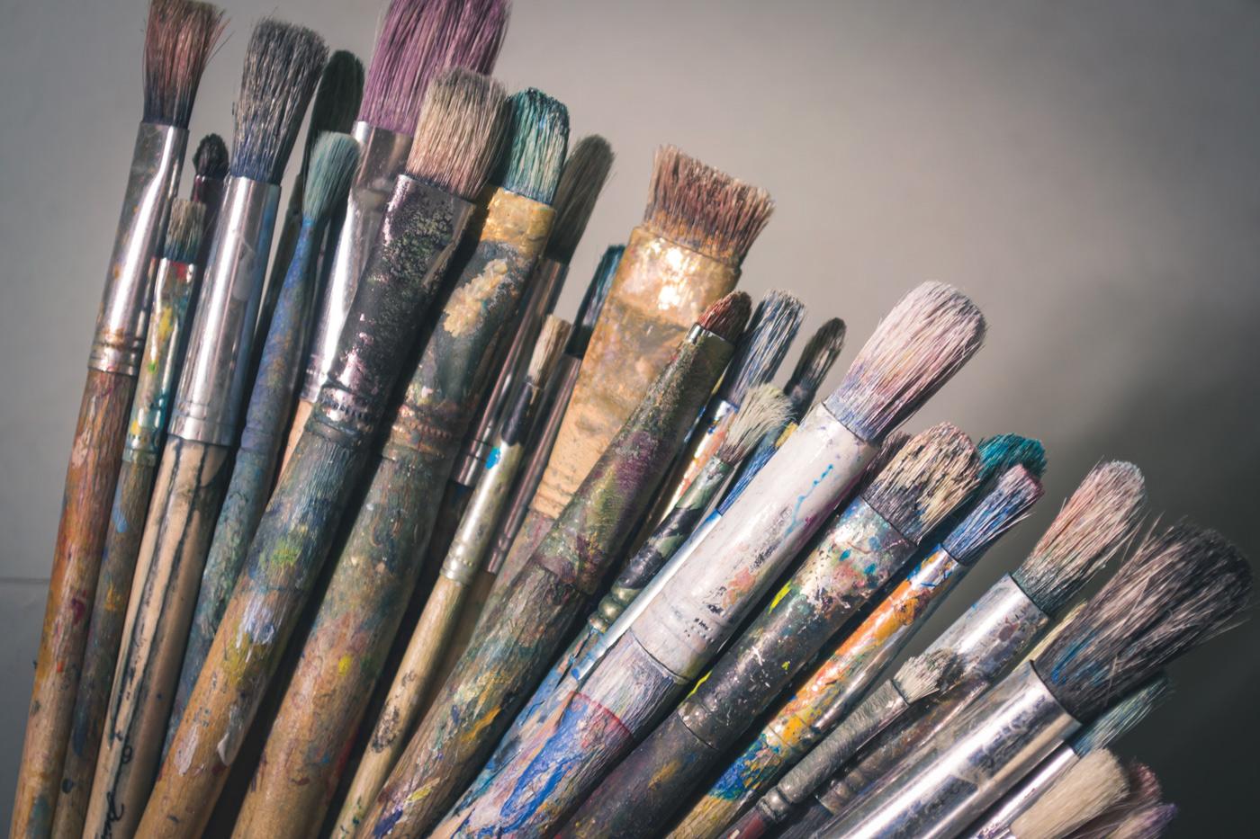 Art Brushes 101 art hacks Steve Johnson Unsplash