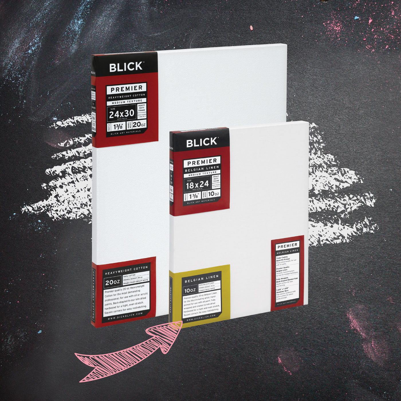 Back to the studio products from Blick