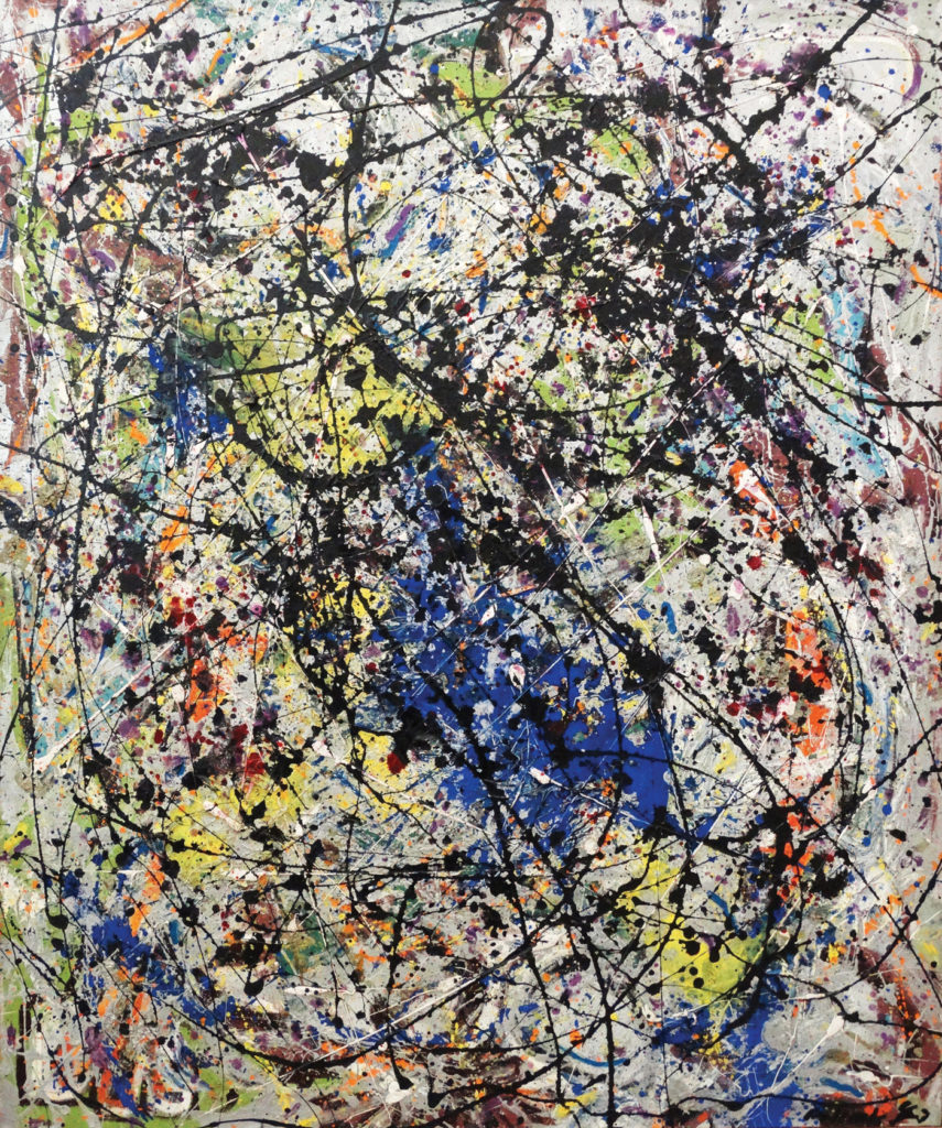 Reflection of the Big Dipper by Jackson Pollock 1947; paint on canvas, 43¾x36 STEDELIJK MUSEUM, AMSTERDAM