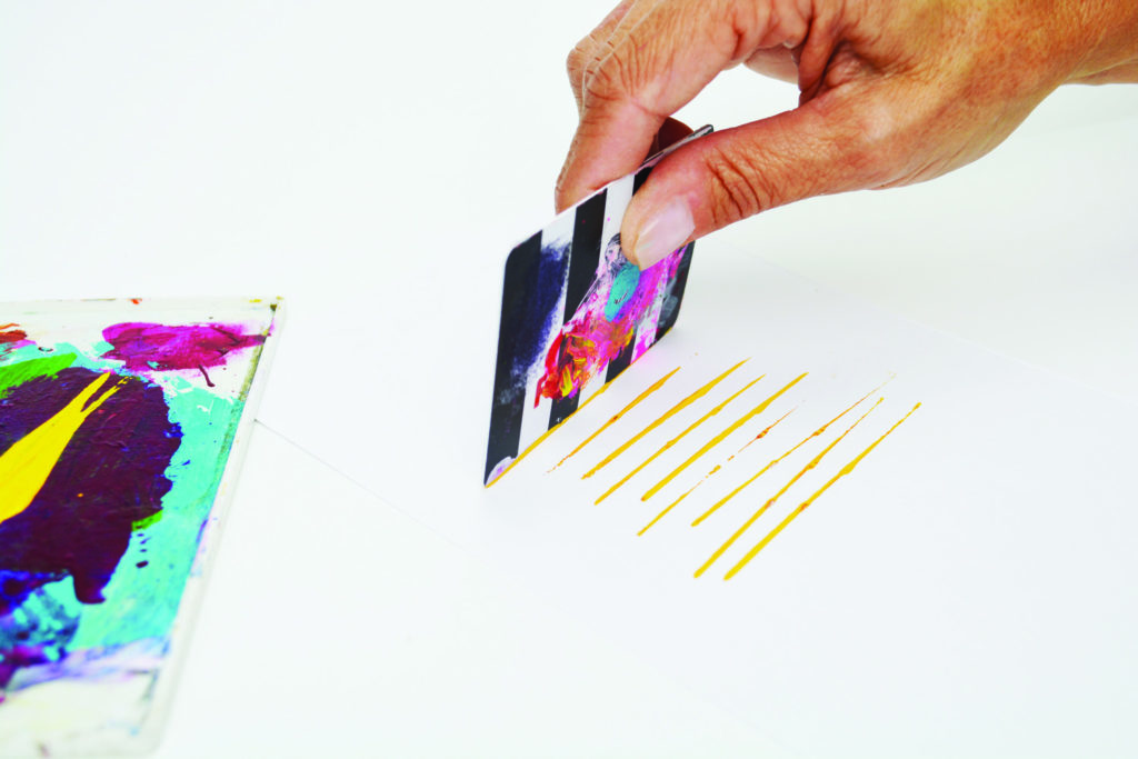 Common tools for mixed media--key cards
