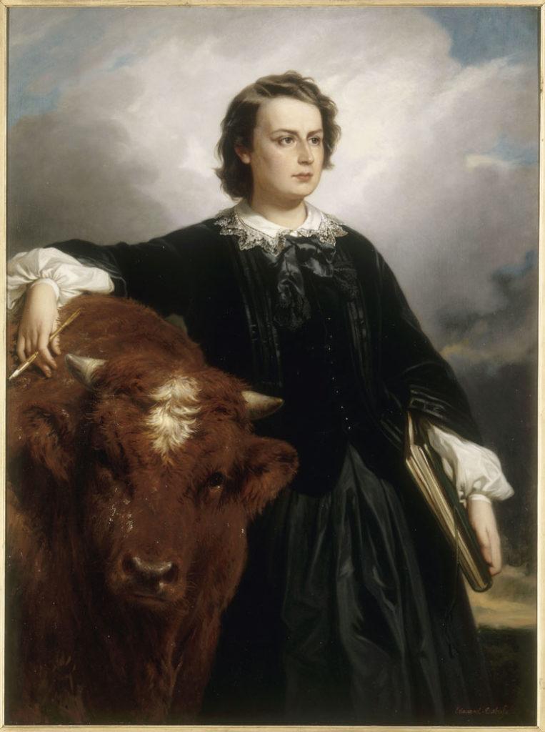 Portrait of Rosa Bonheur by Edouard Louis Dubufe