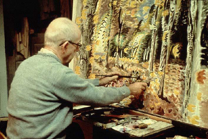 Charles-Burchfield-painting