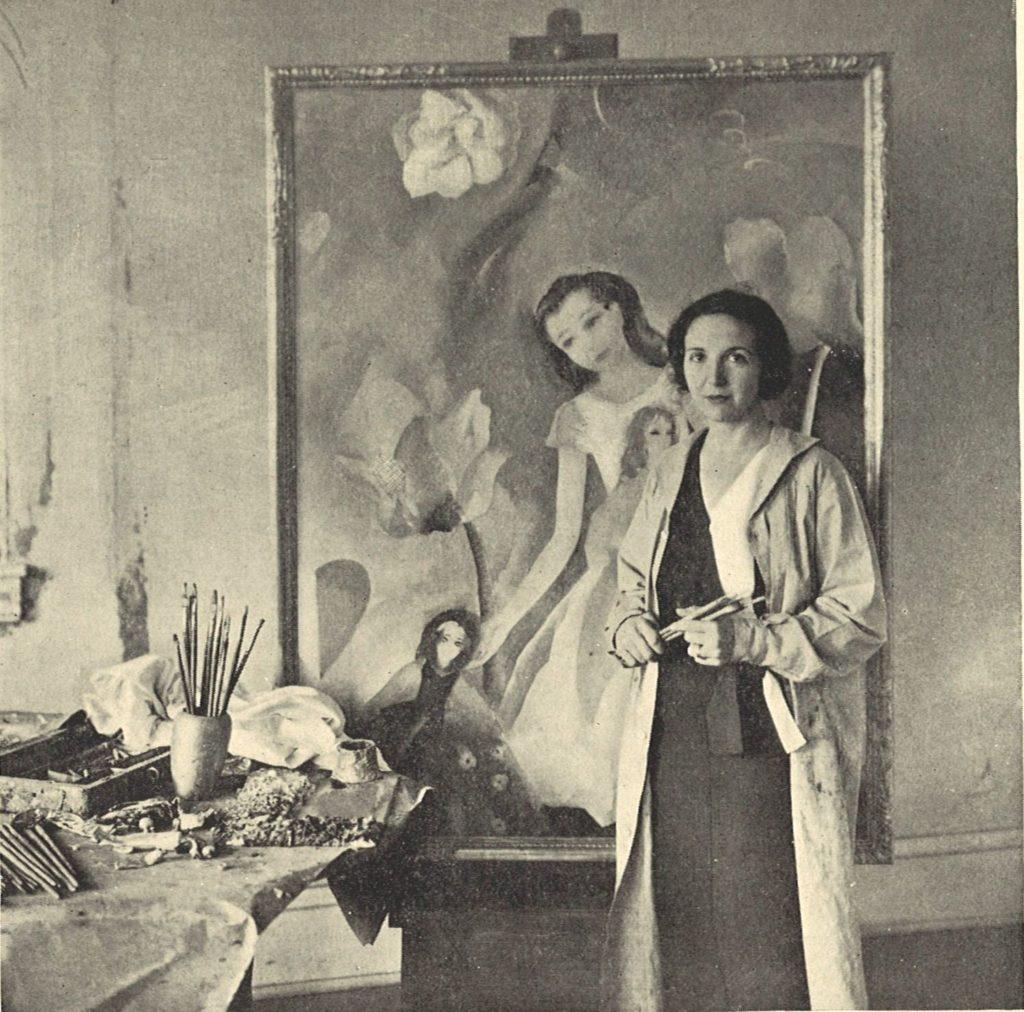 Henriette Wyeth 125 Artist Studios