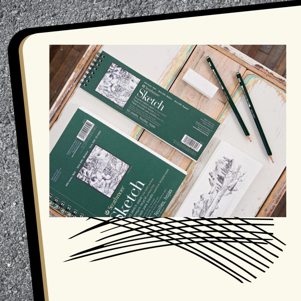 sketching supplies strathmore