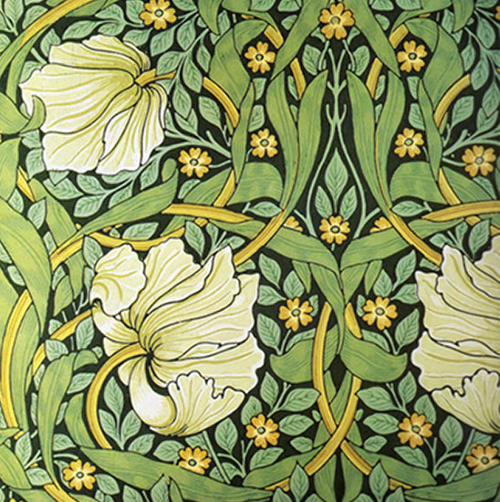 arsenic green 19th century wallpaper designed by William Morris
