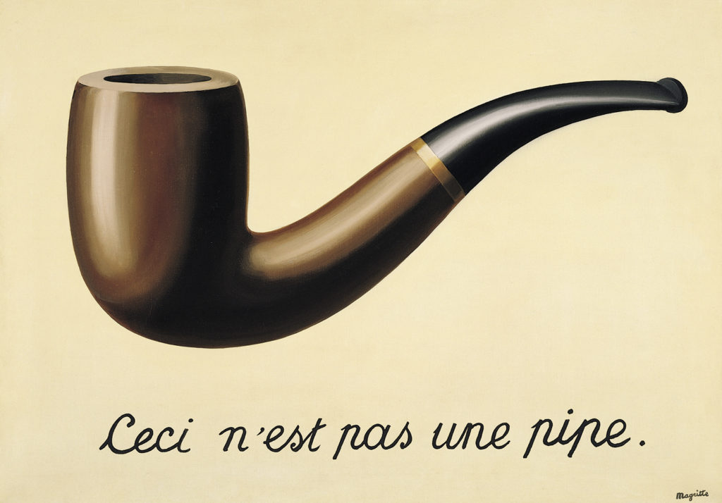 Magritte tromp l'oiel art history glossary