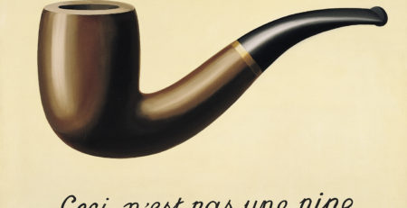 Magritte trompe l'oeil art history glossary
