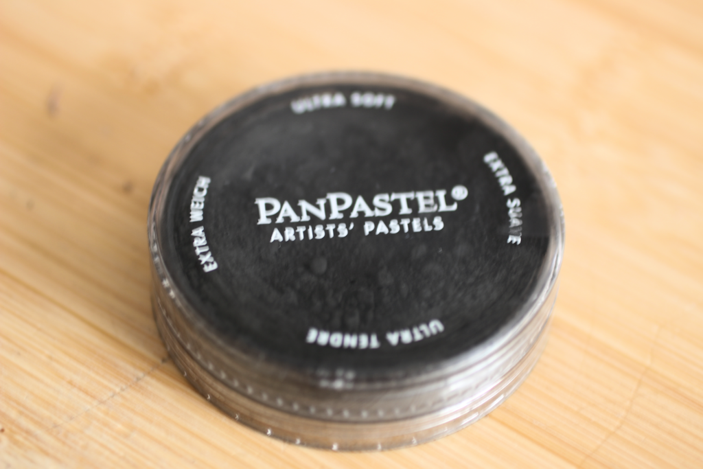 Pan pastels are packaged in pans.