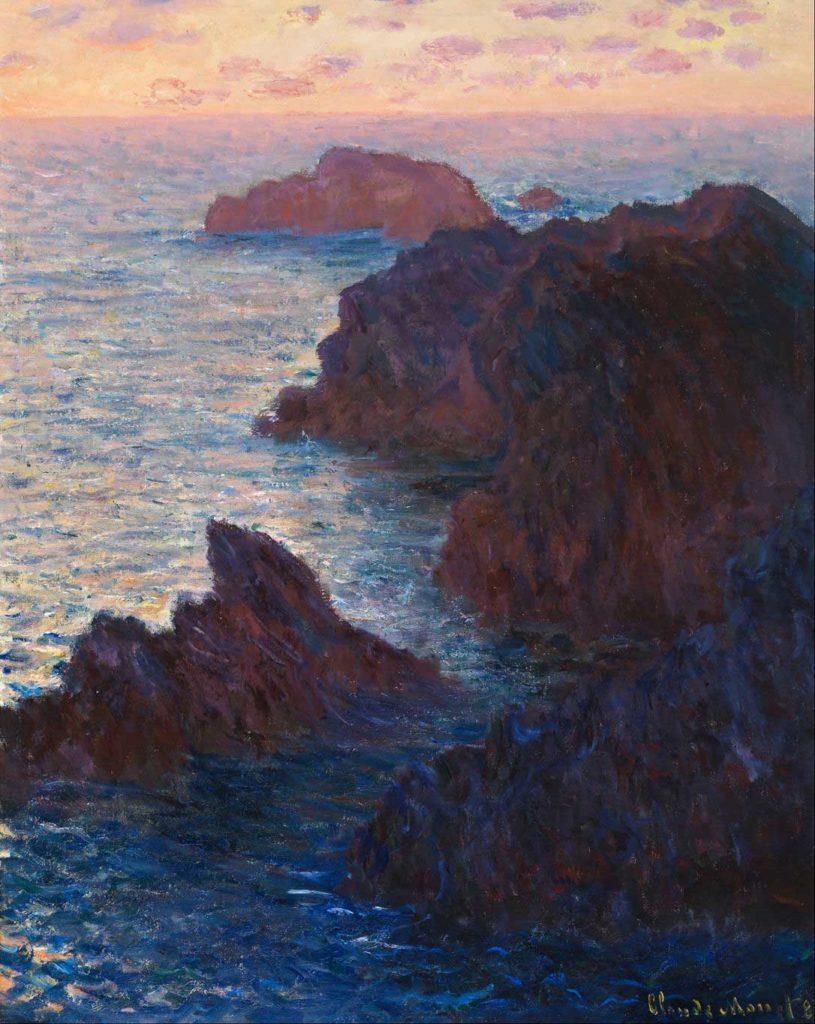 Claude Monet, Rocks at Belle-Ile, Port-Domois, 1886
