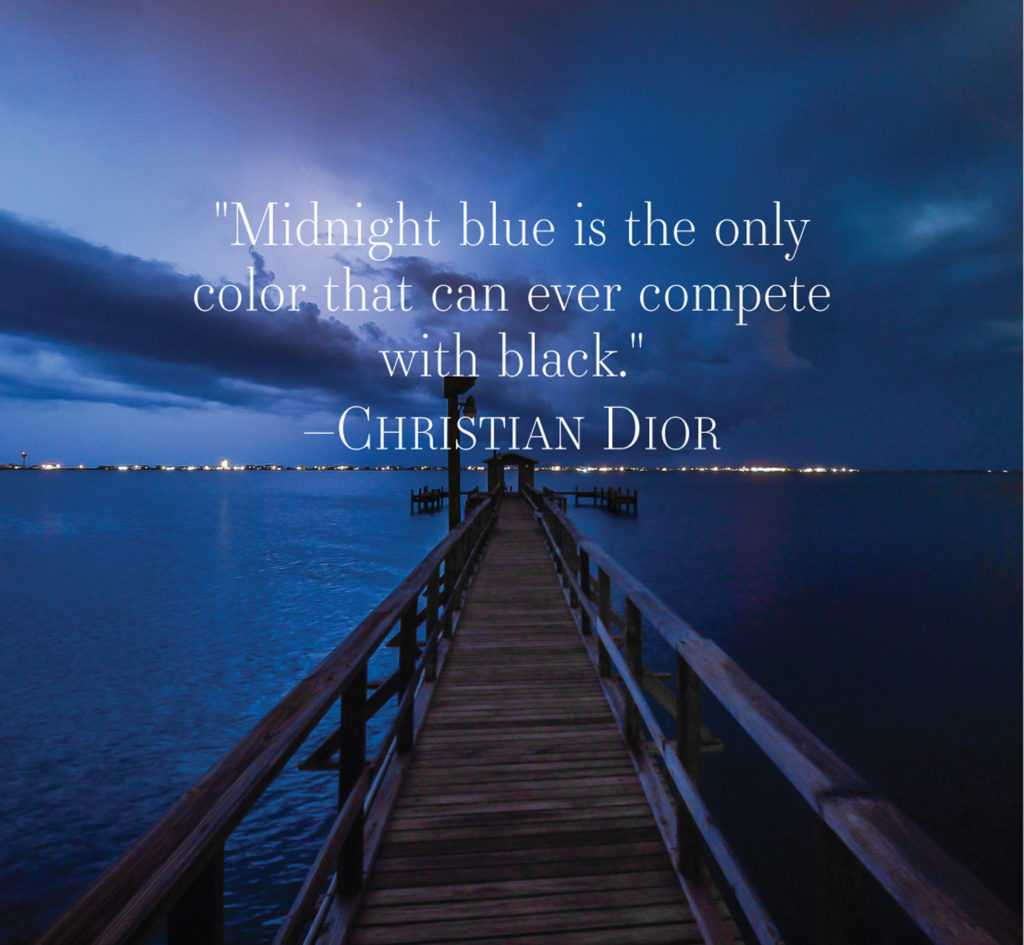 , Color Story | A Stroke of Midnight Blue