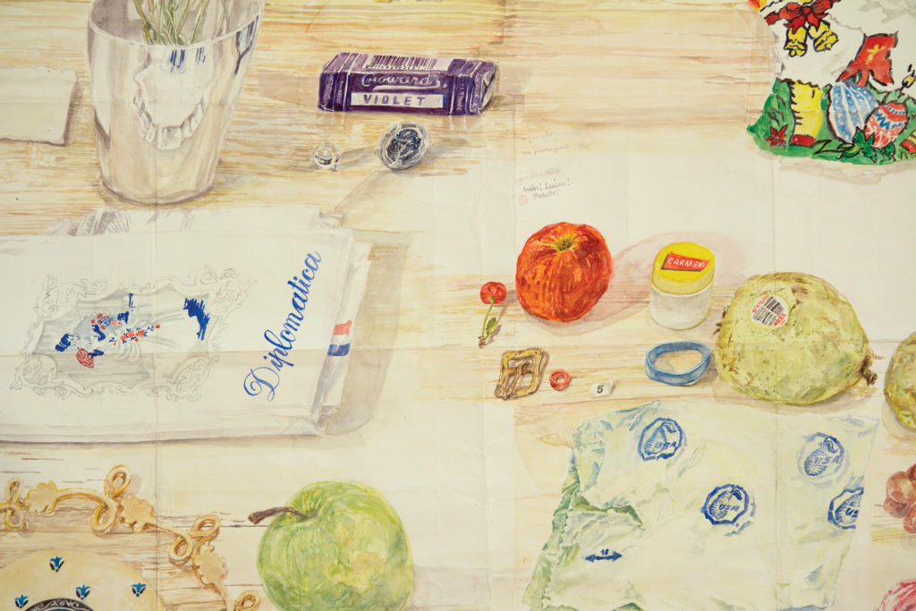 , The Not-So-Still Lifes of Watercolorist Dawn Clements