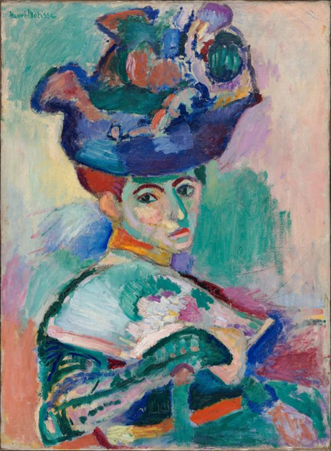 Woman with a Hat by Henri Matisse, 1905