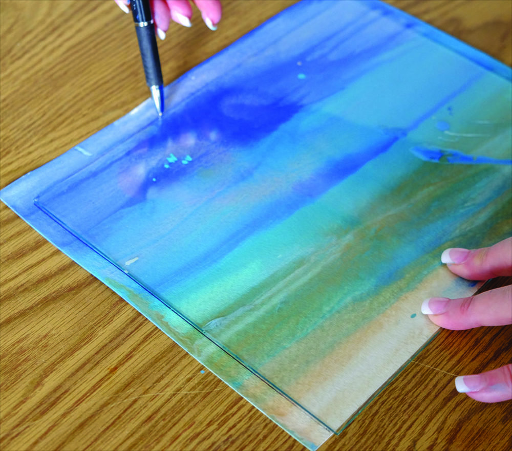 , Go With the Flow | Pour Painting Tutorial from Kimberly Conrad