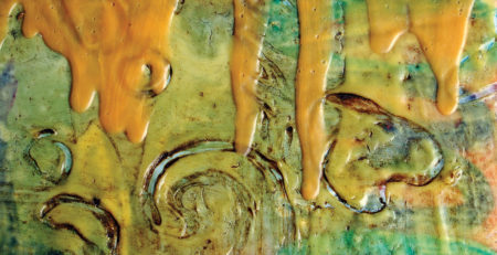 faux encaustic art