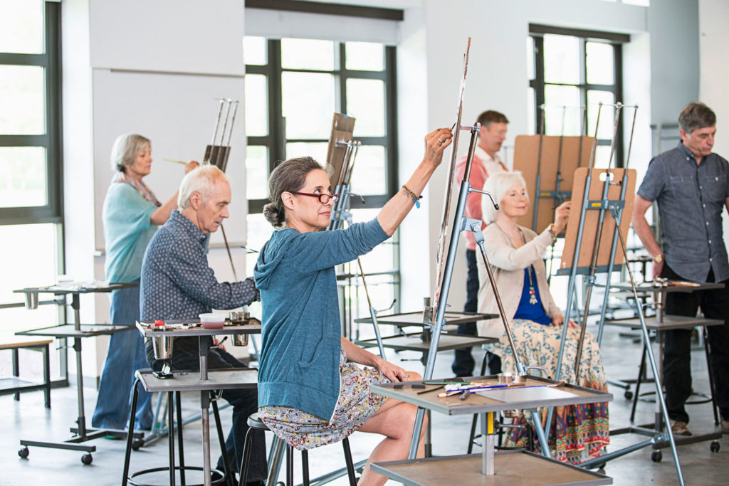 Art courses should offer you multiple ways of approaching a topic.