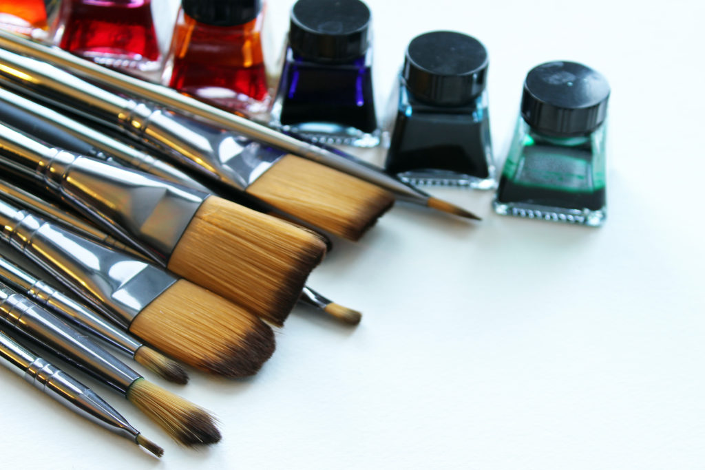 Art courses best practices introduce you to your art supplies and explain them to you.