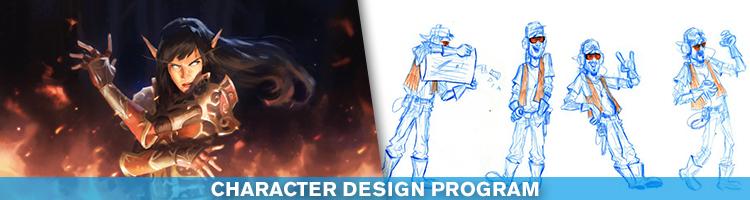 art courses character design program