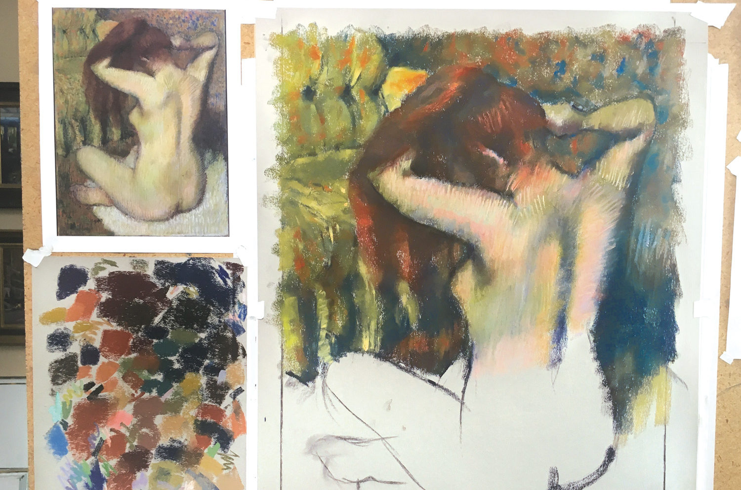 Degas Pastels | Decoding a Master Artist with a Master Copy by Desmond OHagan