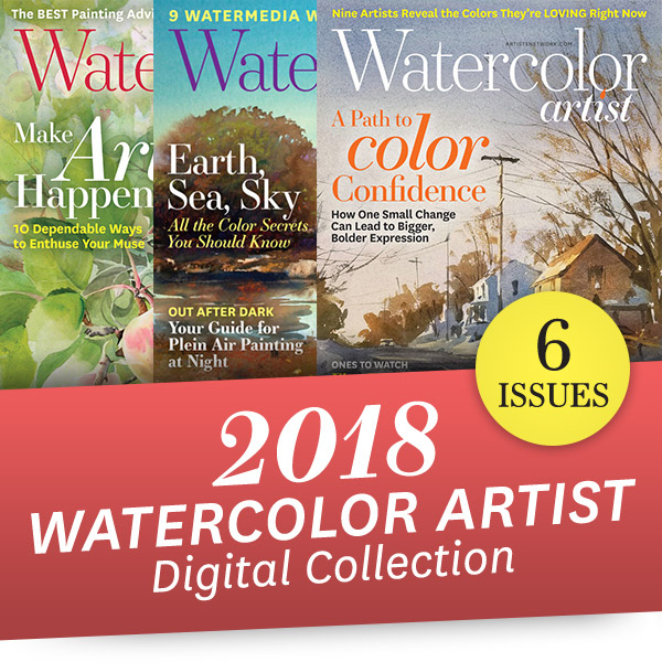 Watercolor Artist 2018 Annual Digital Collection image