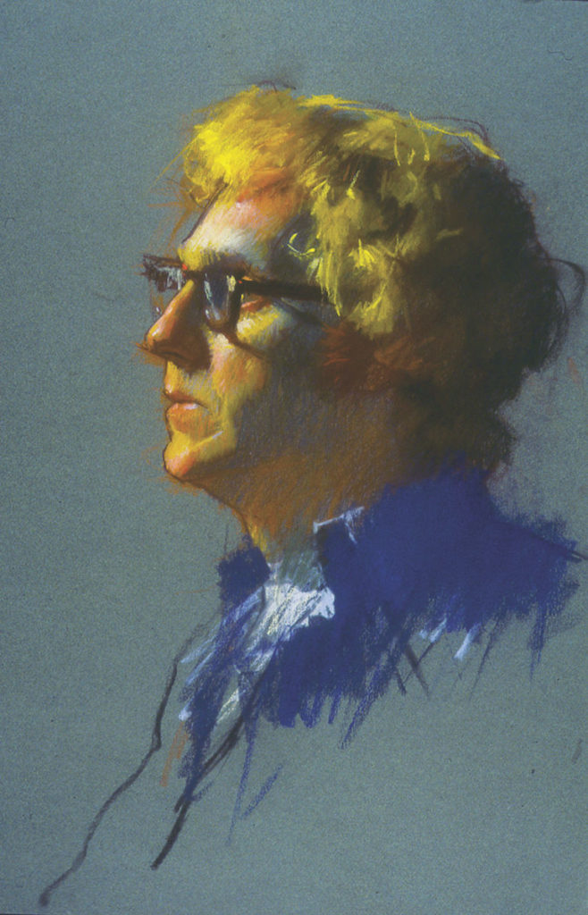 Richard Pionk by Daniel Greene | Pastel | Portraiture | Portraits | Artists Network